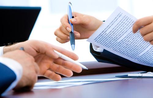 Qui trình của một hợp đồng vay tín chấp