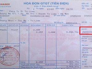 vay tiền theo hóa đơn điện 1