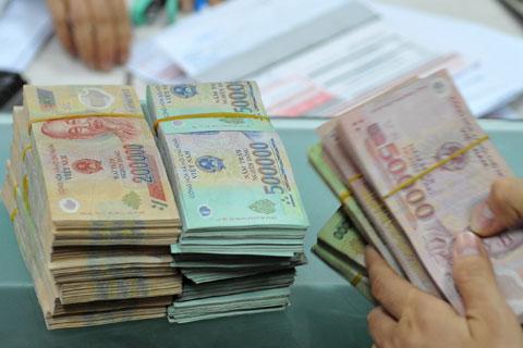 vay tín chấp theo lương chuyển khoản