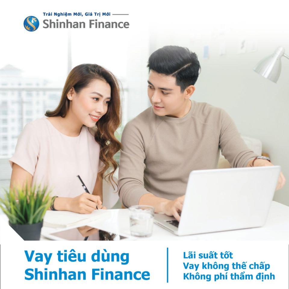 vay tiêu dùng shinhan finance